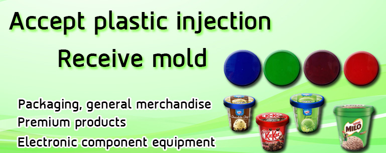 accept plastic injection receiv mold